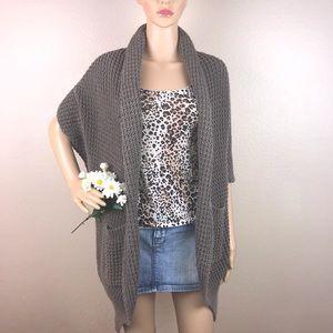 Trina Turk Knit Cocoon Cardigan Sweater